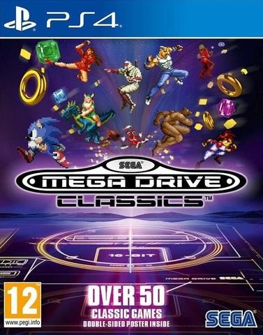Sony PS4 SEGA Mega Drive Classics (английская версия)