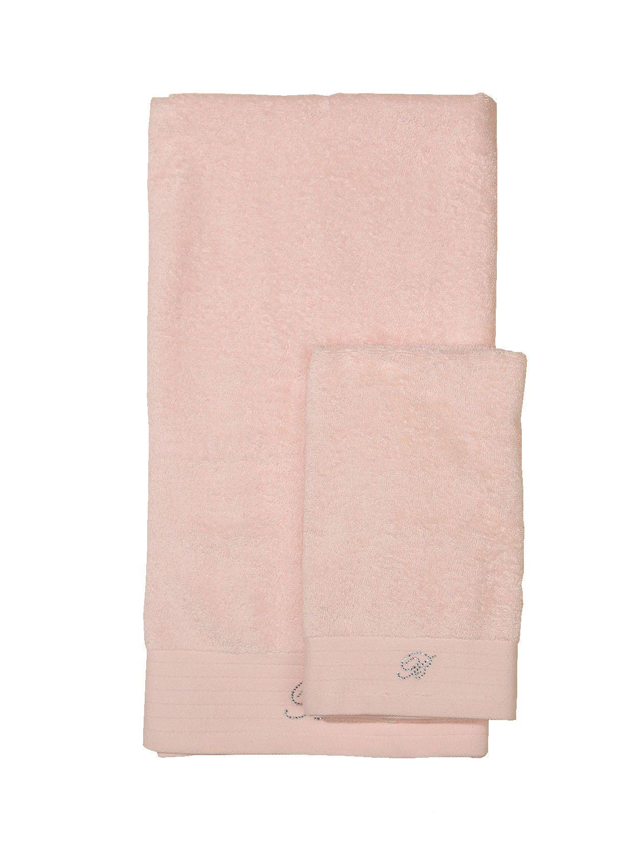 Наборы полотенец Набор полотенец 2 шт Blumarine Crociera пыльно-розовый elitnie-polotentsa-crociera-pudra-ot-blumarine-italiya.jpg