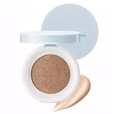 Saemmul Oil Control Cushion 02 Natural Beige