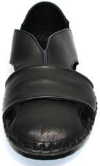 Модные мужские босоножки Luciano Bellini 801 Black.