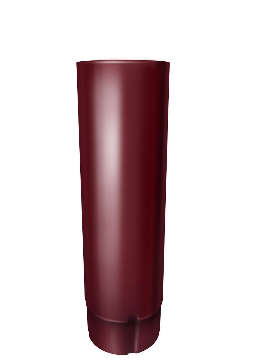 Винно-красный Труба круглая соед ф90-1м (RAL 3005-винно-красный) Труба_круглая_ф90-3м__RAL_3005-винно-красный_.jpg