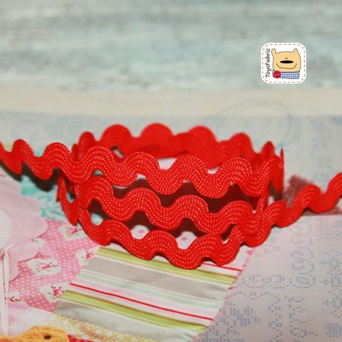 Вьюнчик 5мм (красный) ЛВ43  (1 ярд)