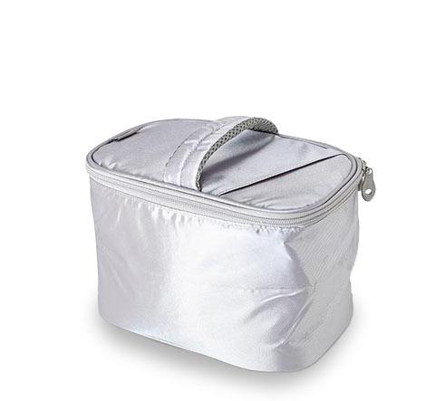 Сумка-холодильник (термосумка) для косметики Beautian Bag Silver, 4.5L