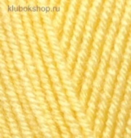 Пряжа Alize Superlana KLASIK 187 лимонный, фото