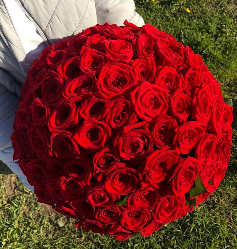 Покупка цветов, сочи букет 101 роза цена