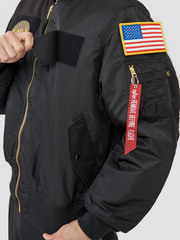 Куртка бомбер Alpha Industries MA-1 Flex Black