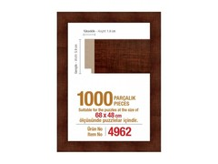 Pazl çərçivəsi (68 x 48 cm.) 4962