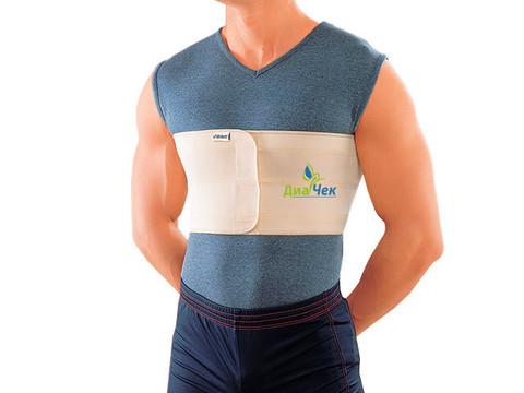Бандаж ортопедический на грудную клетку (двухпанельный, мужской)