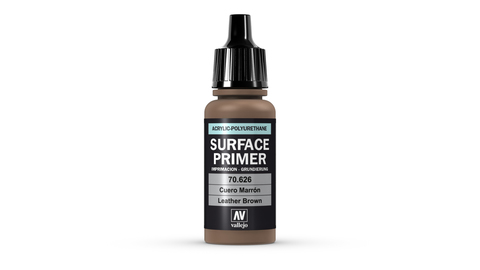 Surface Primer Leather Brown 17 ml.