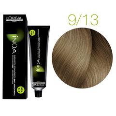 L'Oreal Professionnel INOA 9.13 (Очень светлый блондин пепельный золотистый) - Краска для волос