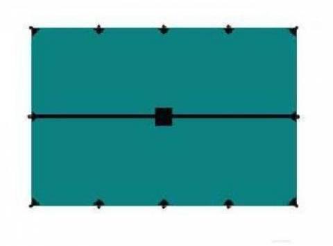 Тент 4x6 BTrace (зеленый)