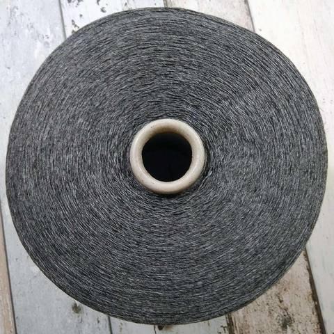 Смесовка с кашемиром SANFILO 1/15 темно-серый меланж