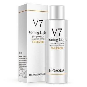 Bioaqua Омолаживающая эмульсия V7 Toning Light, 120 мл