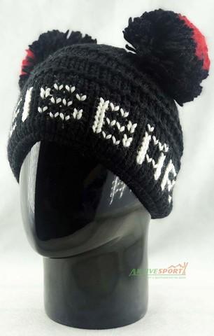 шапка Eisbar heart beat pompon