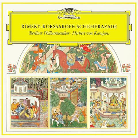Berlin Philharmonic, Herbert von Karajan / Rimsky-Korsakov: Scheherazade (LP)