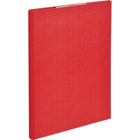 Планшет д/бумаг Attache A4 красный с верхней створкой