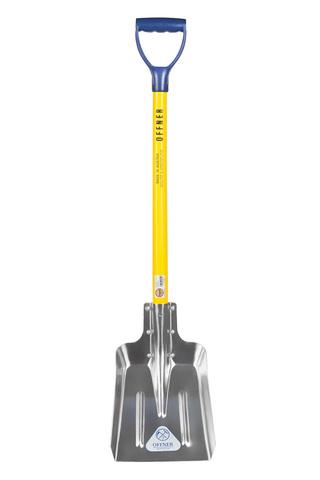 Лопата автомобильная для уборки снега, алюминиевая OFFNER
