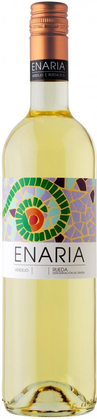 Вино Энария защ. наим. белое сухое 0,75 л 13% Испания