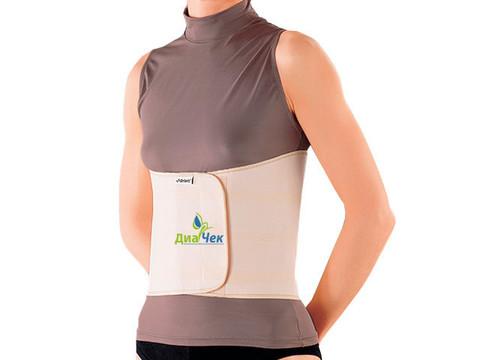 Бандаж ортопедический на грудную клетку (двухпанельный, женский)