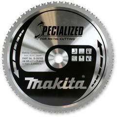 Диск Makita по стали 305*25,4*2,4 мм/60T, 0°, TCG