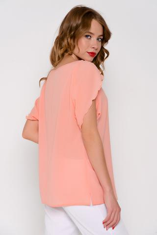 Легкая блузка свободного кроя. Отличный летний вариант.