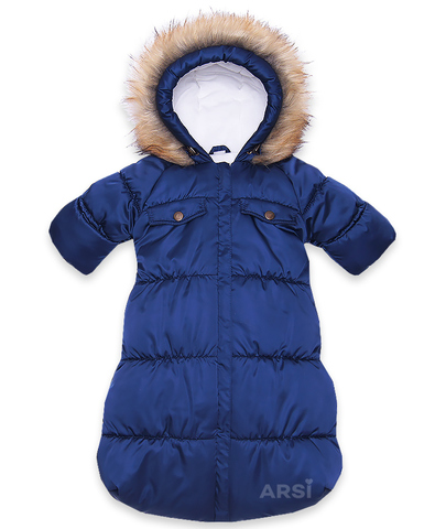 ARSI Комбинезон-мешок Аляска синий