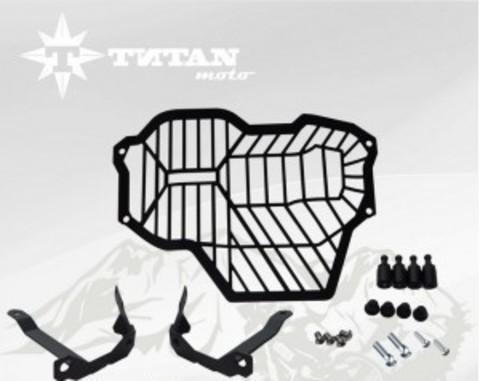 TITAN Защита фары GS LC большая, Решетка