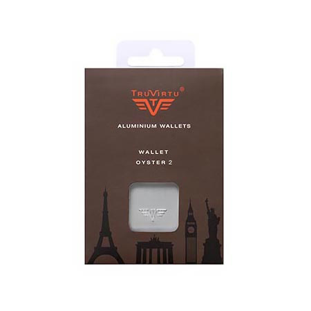 Кошелек c защитой Tru Virtu OYSTER 2, цвет оранжевый, 110*69*28 мм