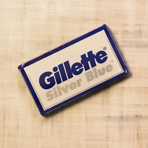 Сменные лезвия Gillette Silver Blue