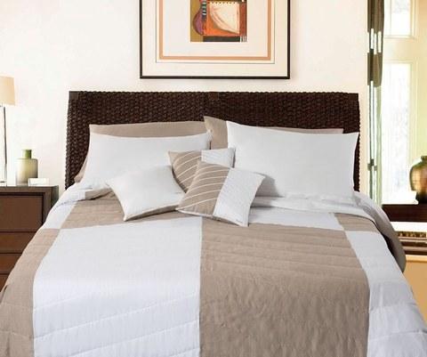 Покрывало 270х270 и 2 декоративные подушки Timas Leonel V.0