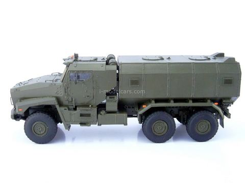 Ural-63095 Typhoon Modular armored car MRAP handmade 1:43