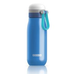 Бутылка вакуумная из нержавеющей стали 500мл синяя Zoku
