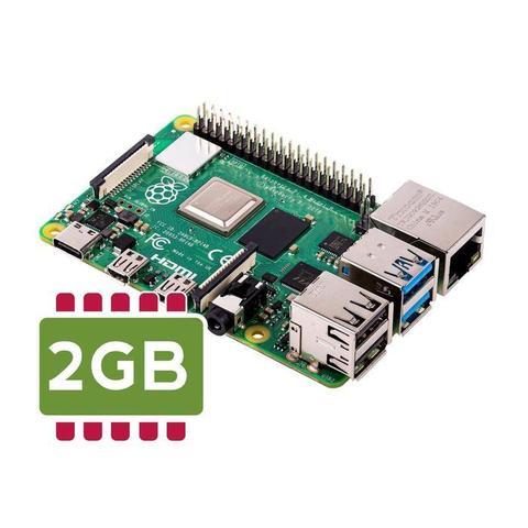 Одноплатный микрокомпьютер Raspberry Pi 4 (2GB RAM)