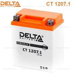 Аккумулятор DELTA 12V 7Ah (CT1207.1)