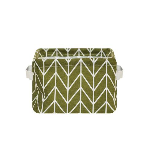 Корзина текстильная малая Green