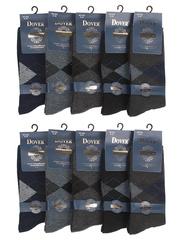 920 носки мужские, цветные 42-48 (10 шт)