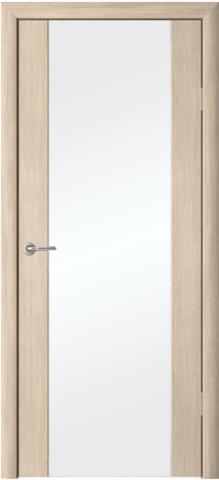 > Экошпон Фрегат ALBERO Сан-Ремо 1, стекло триплекс белый, цвет лиственница мокко, остекленная