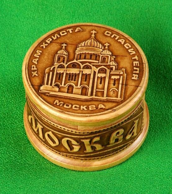 Шкатулка Москва Храм Христа Спасителя