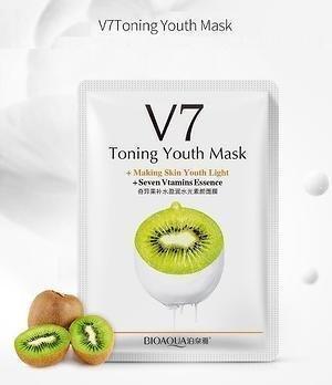 Bioaqua Витаминная маска с экстрактом киви V7 Toning Light