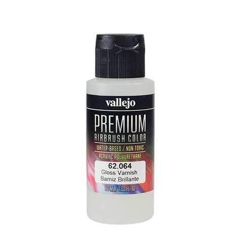 62064 Premium Colors Gloss Varnish Premium Глянцевый лак, 60 мл Acrylicos Vallejo