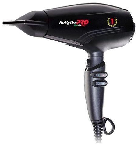 Профессиональный фен BaByliss Ultralight Rapido 2200 Вт черный