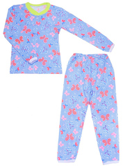 640-4 пижама детская, синяя