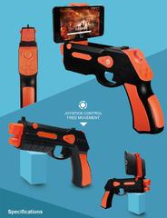 AR Blaster - пистолет дополненной реальности со встроенным джойстиком