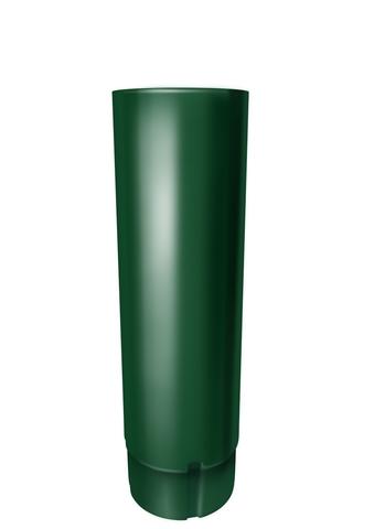 Труба круглая соед ф90-1м (RAL 6005-зеленый мох)