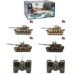 Радиоуправляемый мини танковый бой - 9819