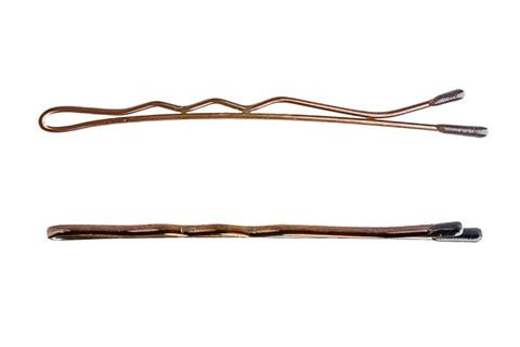 Невидимки Y.S. Park 50 мм коричневые 40 шт