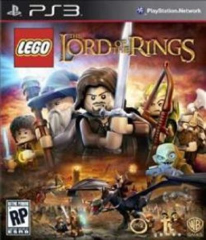 PS3 LEGO Властелин Колец (русские субтитры)