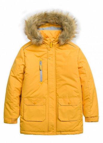 PelicanBZWL3074 Куртка зимняя для мальчиков Освежайс оранжевая