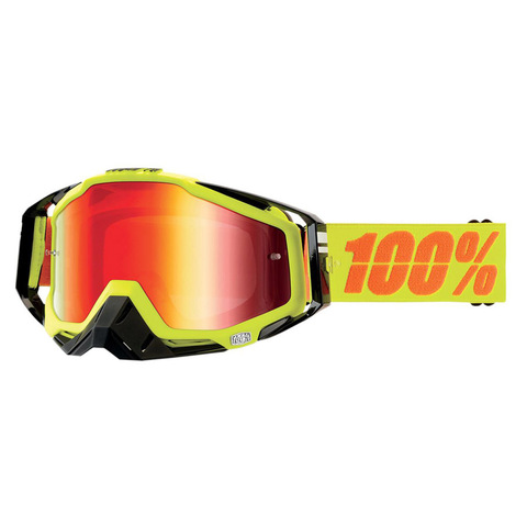 Очки 100% RACECRAFT Neon Sign Mirror Red Lens