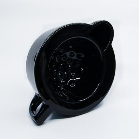 Скаттл - чаша для бритья Squadro warm athmos Черный